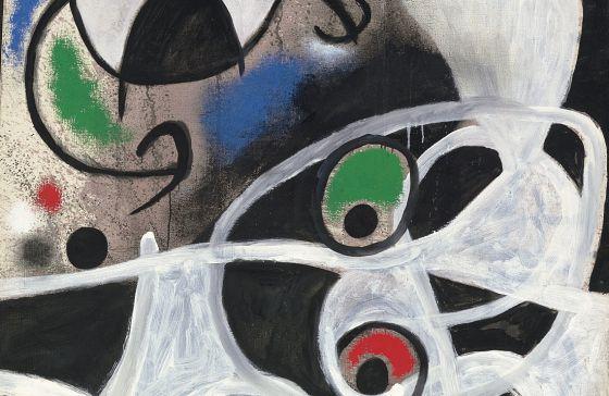 Un Miró inédito en Ibiza/Subasta de sus obras dePortugal