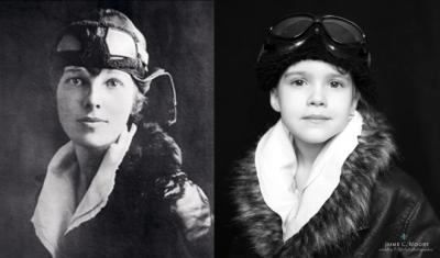 Amelia-Earhhart-por-Jaime-Moore-400x235